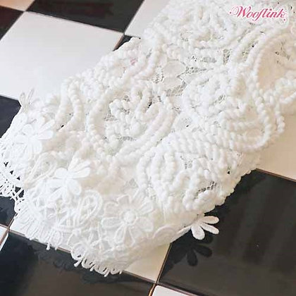 Angelic Lace Dog Blouse White