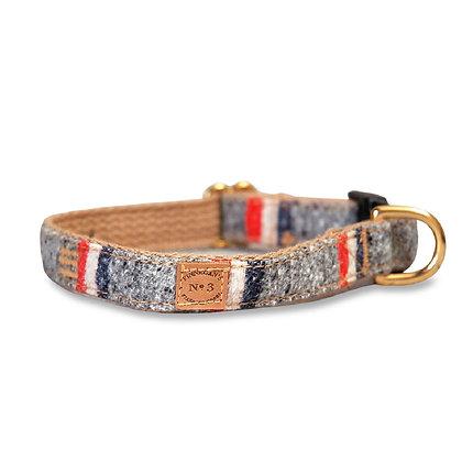 Heather Stripe Dog Collar