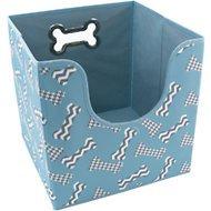 Paw Prints Collapsible Dog Storage Bin