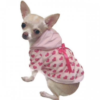 Little Lover Minky Dog Hoodie