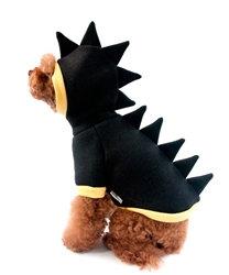 Dino Dog Hoodie Black