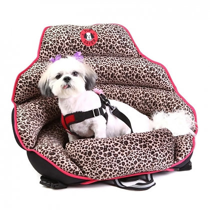 Original Pupsaver Leopard Dog Car Seat