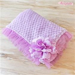 So-Soft Violet Dog Blanket