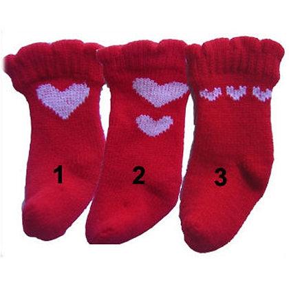 Red Heart Dog Socks