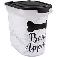 Paw Prints Marble Print Pet Food Storage Container