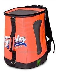 Airline-Approved Orange Touchdog Backpack Carrier