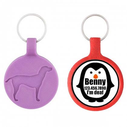 Eco-Friendly Penguin Dog ID Tag