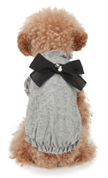 Puppy Angel Magical Mystery Dog Sweater Gray