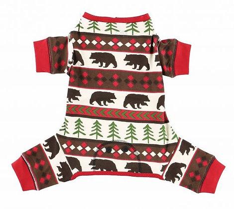 Bear Essentials Dog Onsie Pajamas