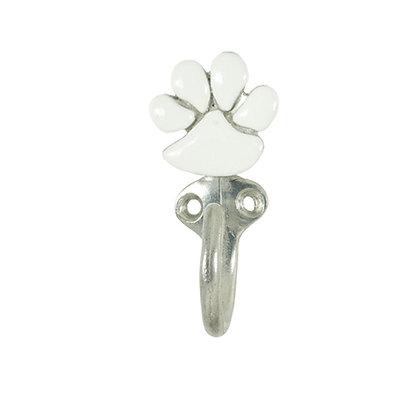 White Paw Single Dog Leash Hook