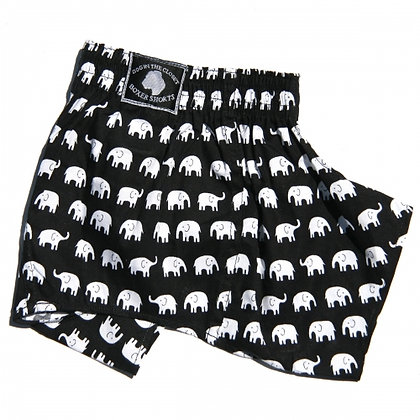 Elephants Dog Belly Boxers
