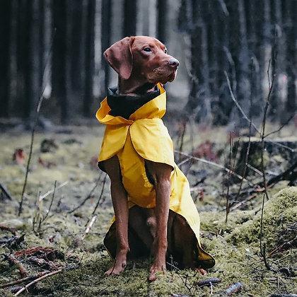 Visibility Dog Raincoat Yellow
