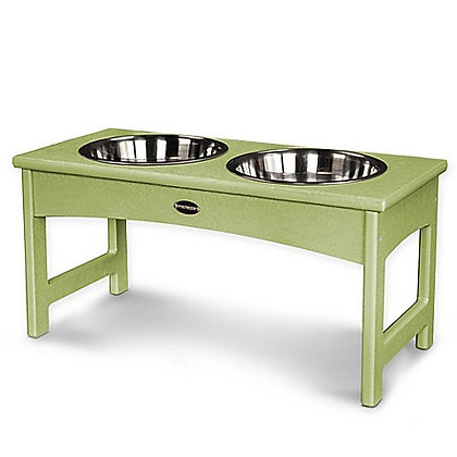 Polywood® Eco-Friendly Raised Dog Feeder