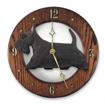 Michael Park Dark Oak Wall Clock