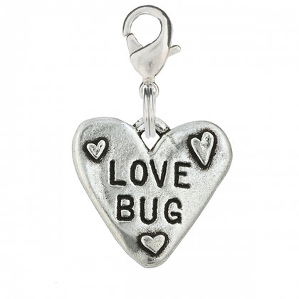 Love Bug Dog Collar Charm