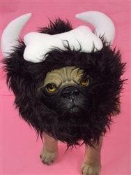 Viking Ear Muffs Dog Hat