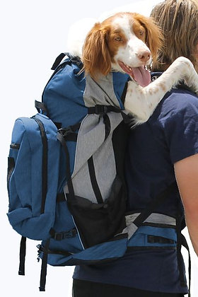 Rover Dog Backpack Carrier Blue
