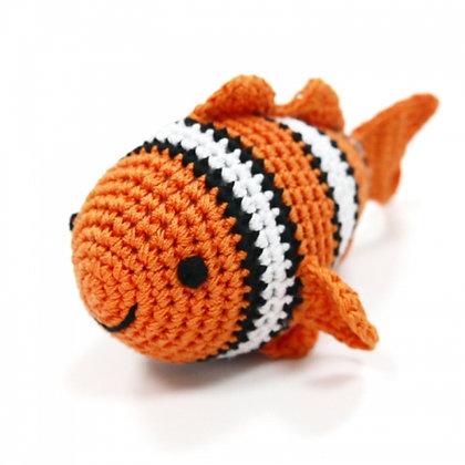 Pawer Squeaky Clown Fish Dog Toy