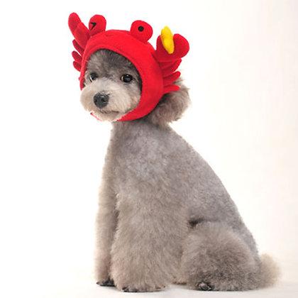 Crab Dog Hat