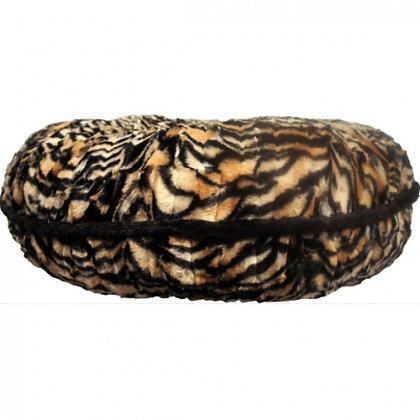 Custom Round Bagel Dog Bed