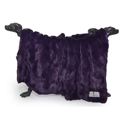 Bella Dog Blanket Royal Purple
