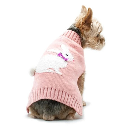 Cottontail Bunny Dog Sweater