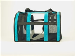 The Puppy Shell Dog Carrier Teal