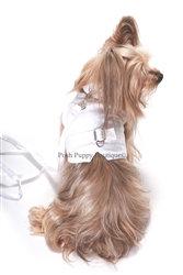 Wyatt Linen Dog Harness Vest