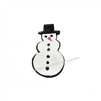 Snowman Dog Hair Clip