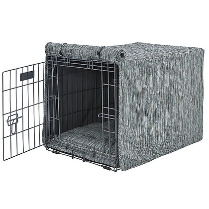 Teaka Chenille Dog Crate Cover