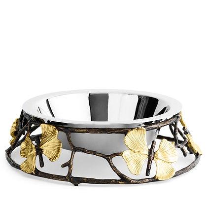 Michael Aram Butterfly Ginko Dog Bowl