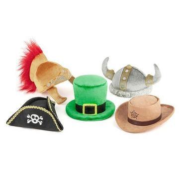 Mutt Hatter Dog Toy Set