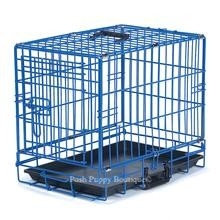 Crate Appeal Fashion Color Dog Crate Blue