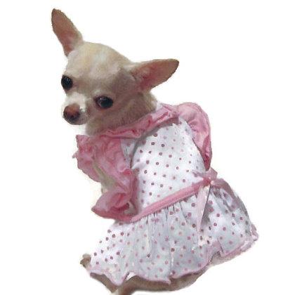 Bitty Baby Ruffle Dog Dress
