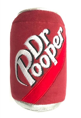Power Plush Dr. Pooper Dog Toy