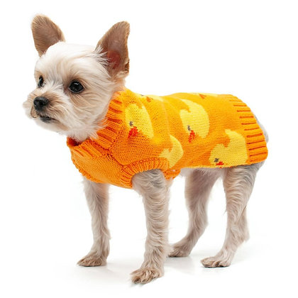 Cozy Duck Dog Sweater