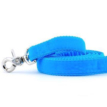 Velvet Dog Leash Turquoise