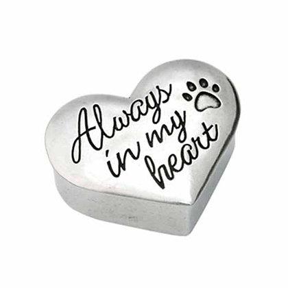 Always In My Heart Trinket Box