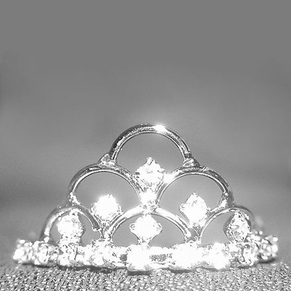 Kelly Crystal Dog Tiara