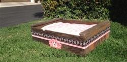Pink Tiara Bed