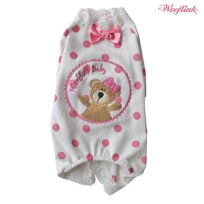 Wooflink Teddy and Me Dog Pajamas