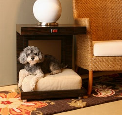 Pierre Heated Spa Dog Bed