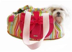 Candy Striper Dog Carrier