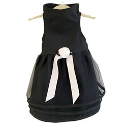 Black Tulle Dog Dress