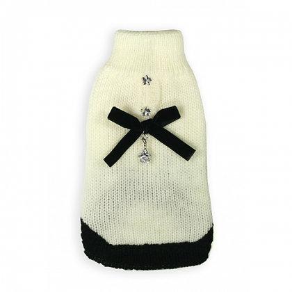 Classic Coco Mohair Dog Sweater Cream