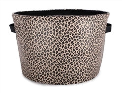 Leopard Dog Toy Bin