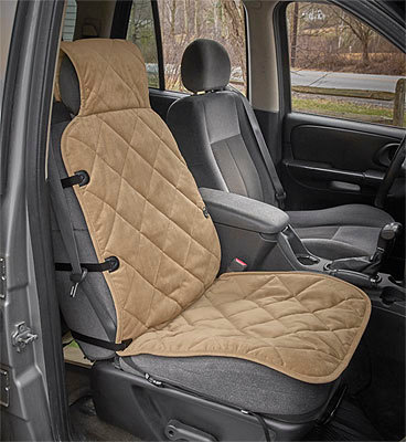 Grip-Tight Quilted Bucket Seat Protector