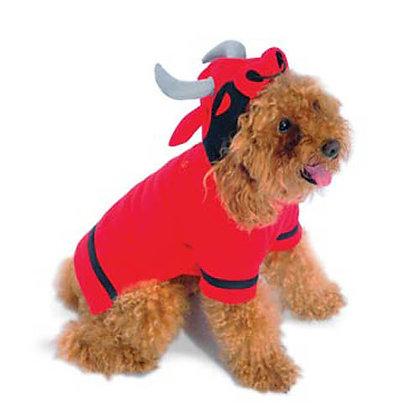 Angry Bull Sweatshirt Dog Costume