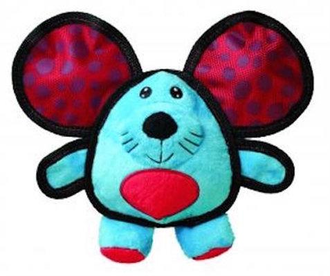 KONG Ballistic Mouse Ears Dog Toy
