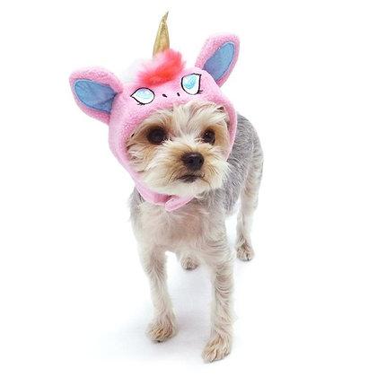 Unicorn Dog Hat Pink